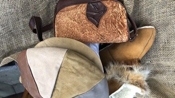 Syning i genbrug/ny pels og skind